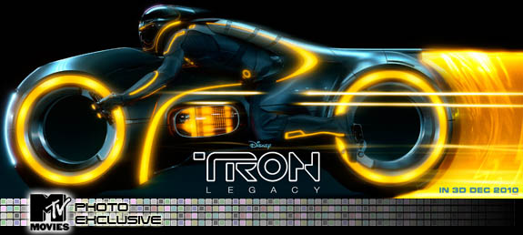 Yellow LightCycle from TRON LEGACY debuted by MTV Movies