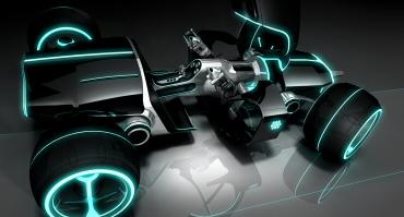 TRON LEGACY four-wheel vehicle