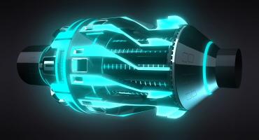 TRON LEGACY LightCycle Engine