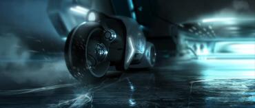 TRON LEGACY NextGen LightCycle render
