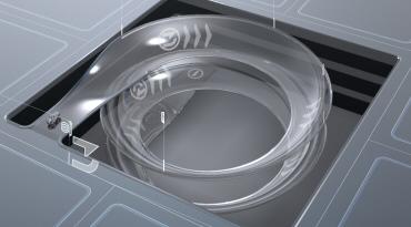 TRON LEGACY LightCycle spiral ramp