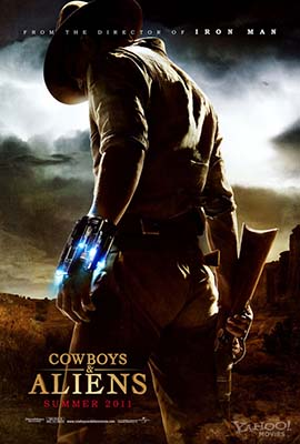 View a larger COWBOYS & ALIENS poster at FilmEdge.net