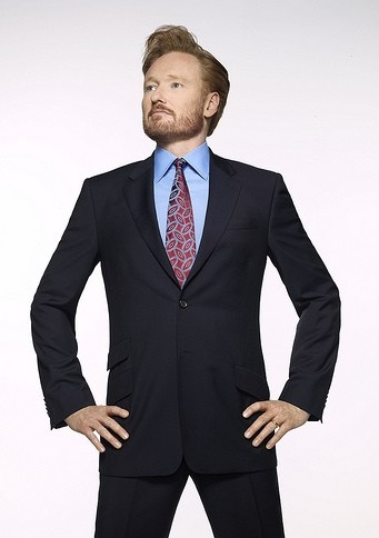 Host Conan O'Brien debuts his new TBS talk show tonight - back and bearded than ever