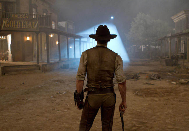 Daniel Craig in COWBOYS & ALIENS. Photo by Universal Pictures.