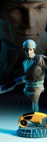 TRON Kevin Flynn statue collectible ready for pre-order from Sideshow Collectibles