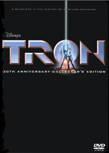 TRON 20th Anniversary DVD Collector's Edition is a hot and rare item today