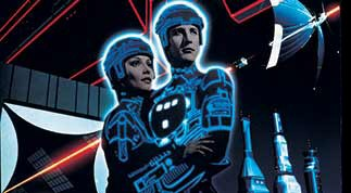 Cindy Morgan and Bruce Boxleitner will see the Blu-ray of light with TRON in 2011... be patient, programs!