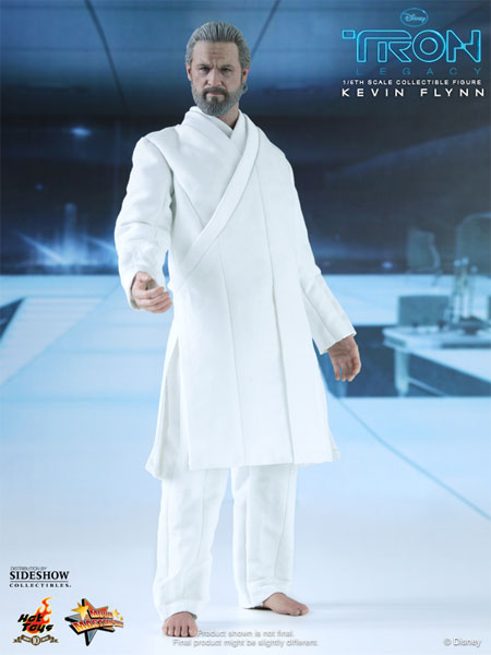 New Kevin Flynn 1/6th scale TRON:LEGACY figure from Sideshow Collectibles