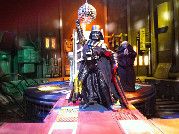 Darth Vader gets down in the new ROBOT CHICKEN: STAR WARS III special debuting on Adult Swim December 19th