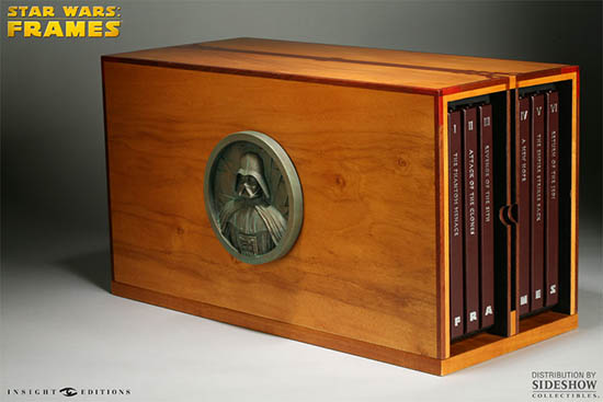 Pre-order a piece of movie history - STAR WARS: FRAMES Limited Edition signed by George Lucas
