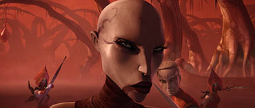 Sith assassin Asajj Ventress returns to her mysterious origins in tonight's all-new episode of STAR WARS: THE CLONE WARS