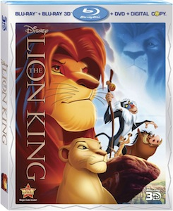Disney's THE LION KING among 15 titles debuting on Blu-ray3D in 2011