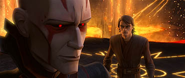 Anakin Skywalker is tempted with visions of his own destiny in 'Ghosts of Mortis', the exciting three-part story arc conclusion on this week's STAR WARS: THE CLONE WARS