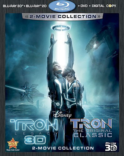 TRON:LEGACY Five-Disc Combo Pack + TRON The Original Classic Special Edition Blu-ray