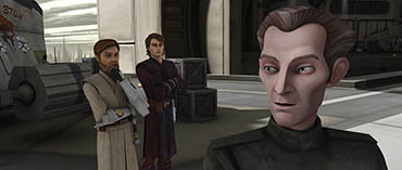 Anakin finds a strange ally in Tarkin - preview this week's CLONE WARS episode