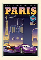 Click to download the CARS 2 World Grand Prix Paris poster