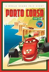 Click to download the CARS 2 World Grand Prix Porto Corsa poster