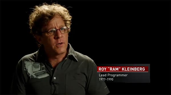 "Former ENCOM programmer Roy ""Ram"" Kleinberg interviewed in TRON ""The Next Day"" video"