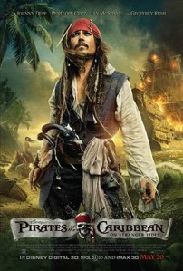 Click to download the hi-res PIRATES 4 poster at FilmEdge.net