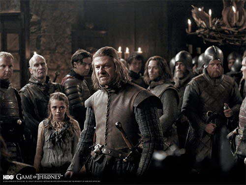 Sean Bean stars in HBO's upcoming series GAME OF THRONES debuting April 17