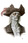 See zombie concept art from PIRATES OF THE CARIBBEAN: ON STRANGER TIDES