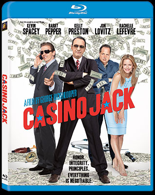 FilmEdge reviews Kevin Spacey in CASINO JACK now on Blu-ray and DVD
