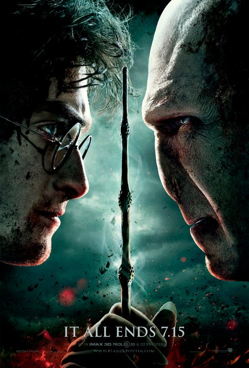 HARRY POTTER AND THE DEATHLY HALLOWS Part 2 opens in theaters July 15, 2011