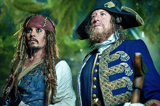 Jack Sparrows escapes from Barbossa and the Royal Navy in this first look film clip from PIRATES OF THE CARIBBEAN: ON STRANGER TIDES