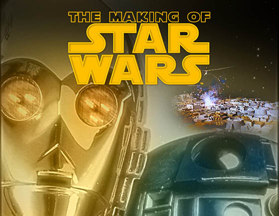 The Making of STAR WARS documentary title art. Copyright and TM 2011 Lucasfilm Ltd. and Fox. All rights reserved.