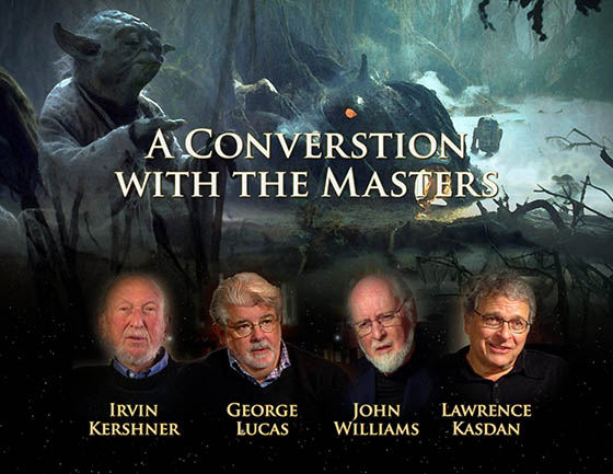 A Conversation with the Masters: The Empire Strikes Back 30 Years Later documentary art. Copyright and TM 2011 Lucasfilm Ltd. and Fox. All rights reserved.