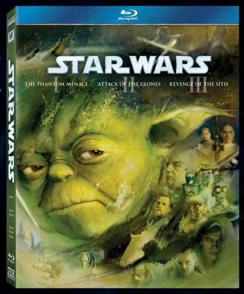 STAR WARS Prequel Trilogy Blu-ray box art revealed. Copyright and TM 2011 Lucasfilm Ltd. and Fox. All rights reserved.