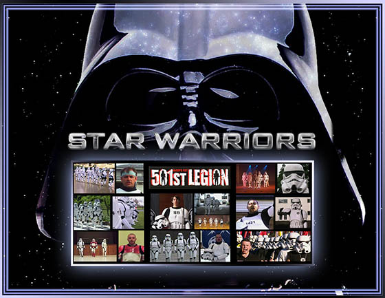 Star Warriors documentary title art. Copyright and TM 2011 Lucasfilm Ltd. and Fox. All rights reserved.