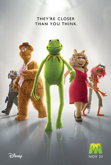 THE MUPPETS teaser one-sheet poster