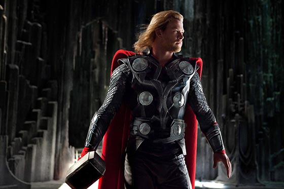 Chris Hemsworth stars in Marvel Studios' THOR - read FilmEdge.net's review