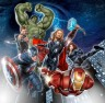 Promo art design for THE AVENGERS now available in hi-res download