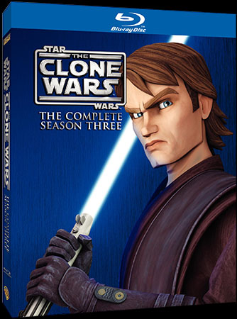 Watch preview clips of STAR WARS: THE CLONE WARS Season 3 coming to Blu-ray and DVD
