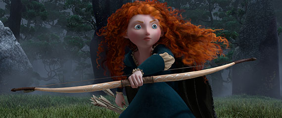 FilmEdge previews Disney/Pixar's BRAVE teaser trailer and animation art