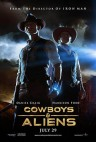 COWBOYS & ALIENS stars Daniel Craig, Harrison Ford and Olivia Wilde