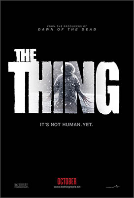 Click to download teaser poster for THE THING
