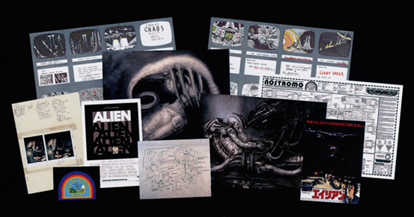 Content samples from the new book ALIEN VAULT: The Definitive Story of the Making of the Film