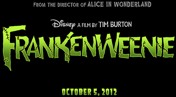 Tim Burton's stop-motion fantasy FRANKENWEENIE opens in theaters October 5, 2012 from Walt Disney Pictures