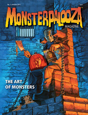 Issue No. 1 of Monsterpalooza Magazine now available for pre-order, ships September 2011