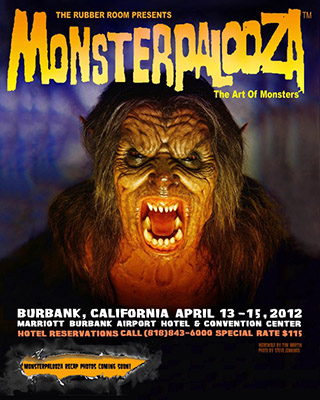 Get details on the Monsterpalooza convention April 13-15, 2012 in Burbank, CA