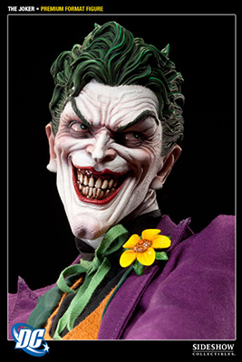 Pre-order THE JOKER Premium Format Figure from Sideshow Collectibles
