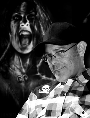 The screaming spirit of La Llorona looms over Halloween Horror Nights creative director John Murdy
