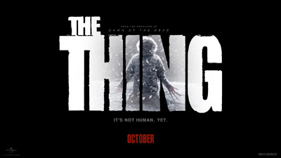 Download all eight wallpaper designs for THE THING