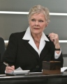 Dame Judi Dench returns for a 7th time as M in the new Bond film SKYFALL