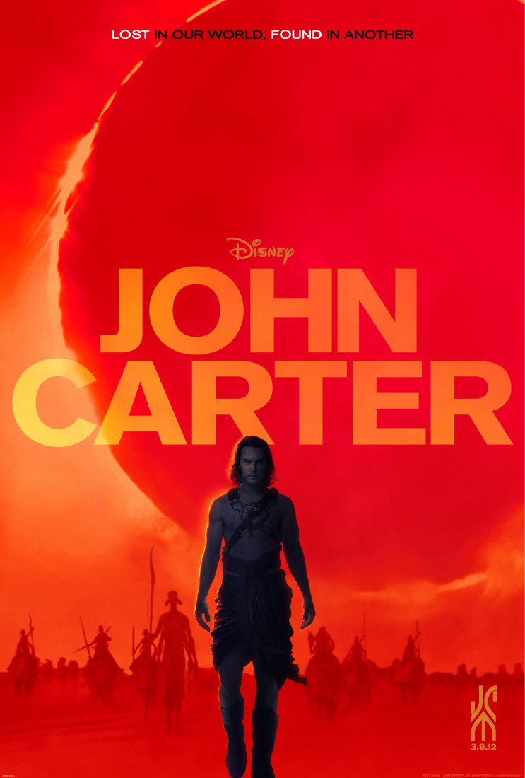 Disney's JOHN CARTER one-sheet payoff poster