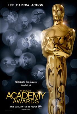 Click to download the 84th Oscars poster