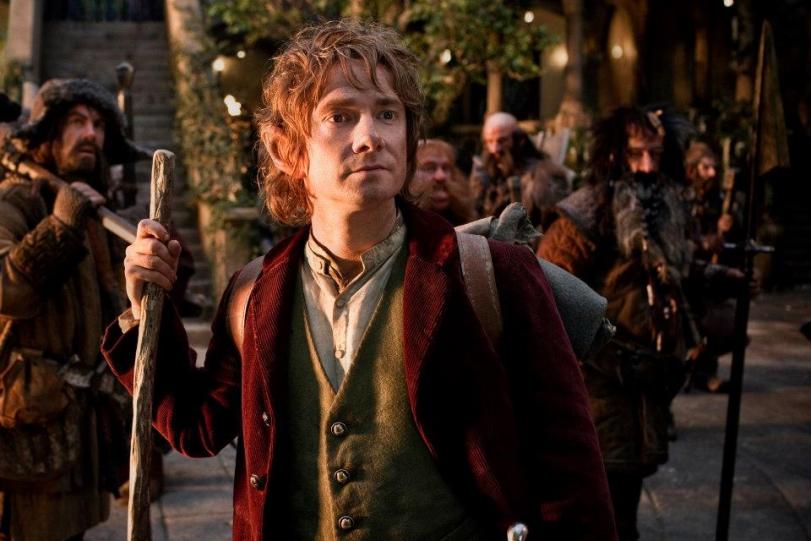 Martin Freeman as Bilbo Baggins in THE HOBBIT - watch the new trailer on iTunes